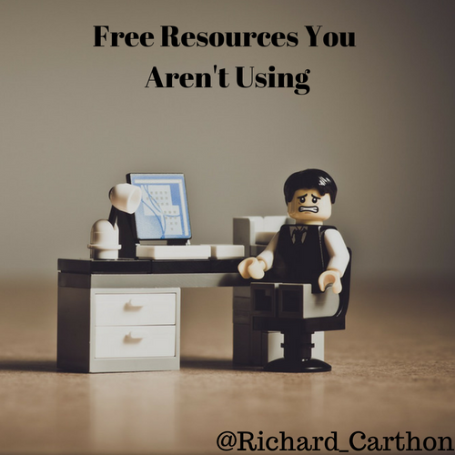 Free Resources You Aren't Using