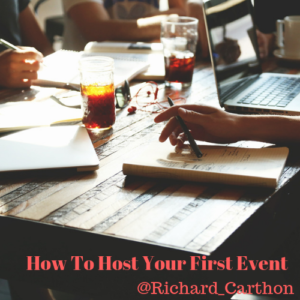 How To Host Your First Event
